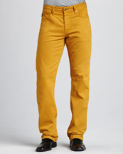 AG Adriano Goldschmied Protege Yellow Jeans