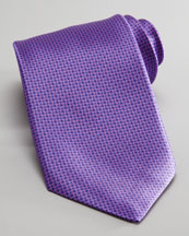 Stefano Ricci Neats Silk Tie, Purple