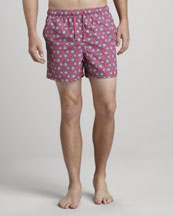 Etro Medallion-Print Swim Trunks