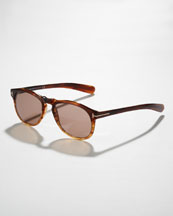 Tom Ford Flynn Sunglasses, Brown