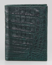 Santiago Gonzalez Crocodile Passport Cover
