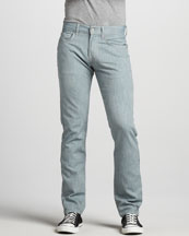 7 For All Mankind The Straight Weft Jeans, Leaf