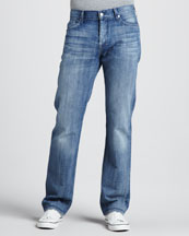 7 For All Mankind Standard Sunlight Waters Jeans