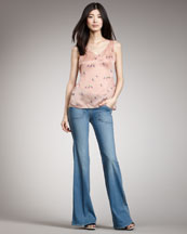 MARC by Marc Jacobs Workwear Wide-Leg Jeans