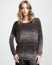Vince Sequined Sweater, Godiva