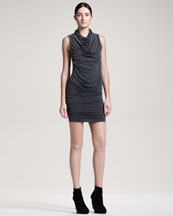 Helmut Lang Shade Draped Dress
