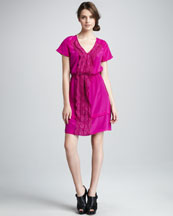 MARC by Marc Jacobs Mariko Lace-Panel Dress