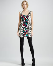 Nanette Lepore Double Happiness Printed Dress