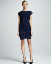 Elie Tahari Adella Lace Dress