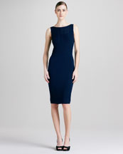 Elie Tahari Anika Fine Merino Dress