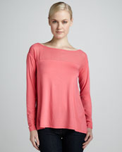 Elie Tahari Kemper Stretch-Knit Sweater