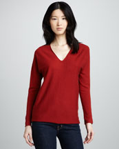 Vince V-Neck Cashmere Sweater