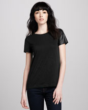 Theory Rodiona Tee, Black