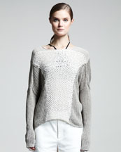 Helmut Lang Mix-Knit Sweater