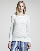 10 Crosby Derek Lam Crochet Sweater