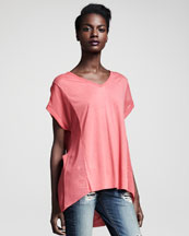 Rag & Bone Helena Top, Coral