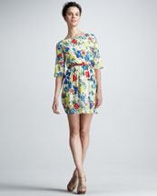 Alice + Olivia Grier Belted Dress