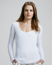 Theory Dafna Ribbed Sweater