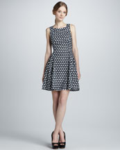 Theory Whirling A-Line Dress