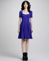 MARC by Marc Jacobs Gertie Pleat-Skirt Dress