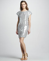 Rachel Zoe Mick Sequin Dress
