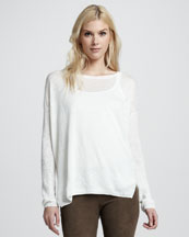 Vince Loose Linen Sweater