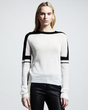 ALC Sachi Striped Sweater