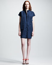 Rag & Bone Finn Cotton Shirtdress