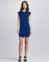 MARC by Marc Jacobs Daphne Dot Sweater Dress