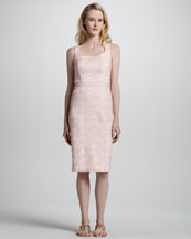 Tory Burch Jayden Tweed Sheath Dress