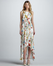Alice + Olivia Mel Floral-Print Maxi Dress