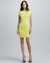 Diane von Furstenberg Meela Retwisted Ruched Dress