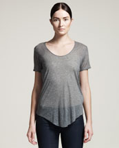 HELMUT Helmut Lang Voltage Sheer Tee