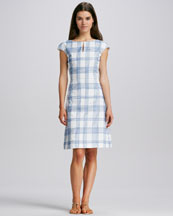 Tory Burch Kenny Printed Cotton Dress