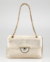 Judith Leiber Zahara Optic Shoulder Bag