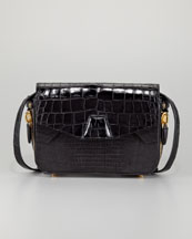 Alexander Wang Tri-Fold Shoulder Bag, Black