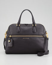 MARC by Marc Jacobs Globetrotter Calamity Bag, Black