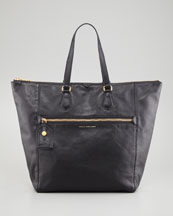 MARC by Marc Jacobs Globetrotter B. Cassidy Tote Bag, Black