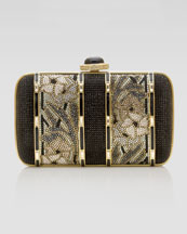 Judith Leiber Rectangular Charmaine Clutch Bag