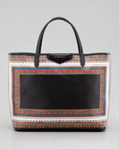 Givenchy Antigona Large Scarf-Print Shopper Tote Bag