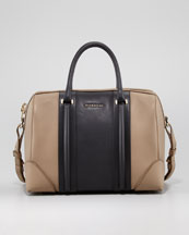 Givenchy Lucrezia Colorblock Satchel Bag, Medium