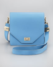 Givenchy Flap-Top Crossbody Bag, Sky Blue