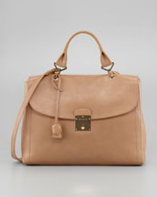 Marc Jacobs The 1984 Satchel Bag, Beige