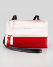 Givenchy Pandora Colorblock Mini Crossbody Bag, Multi