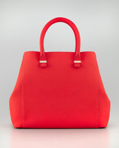 Victoria Beckham Georgia Leather Tote Bag