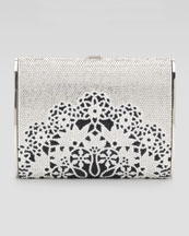 Judith Leiber Lacey Archive Clutch Bag