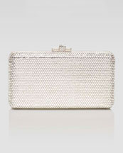 Judith Leiber Airstream Large Clutch Bag, Clear