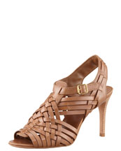 Tory Burch Nadia Huarache Sandal, Royal Tan