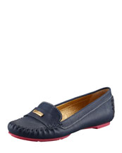 kate spade new york weekend contrast-sole loafer