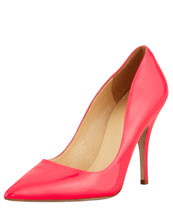 kate spade new york licorice patent pointed-toe pump, fuchsia